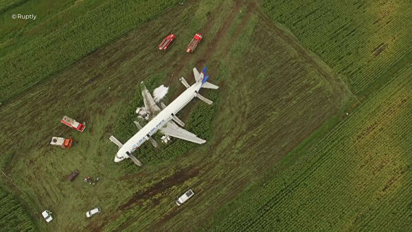 Бортпроводник рассказала о действиях пассажиров при экстренной посадке А321
