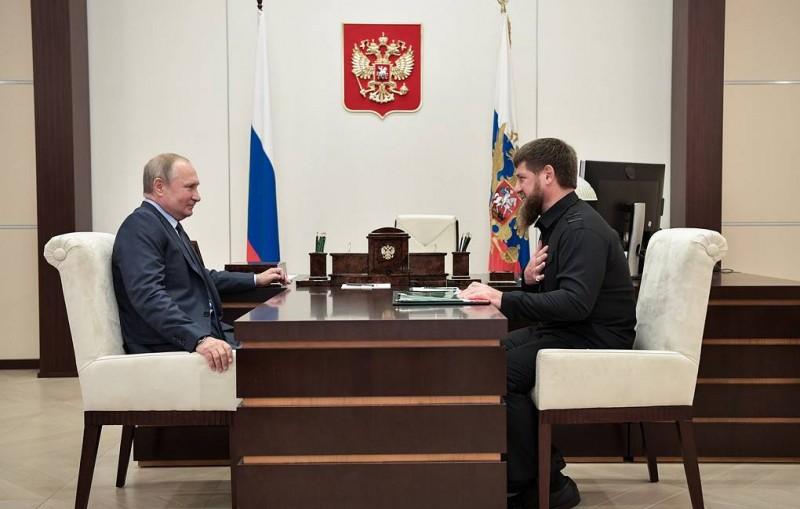 Путин собирается посетить Чечню