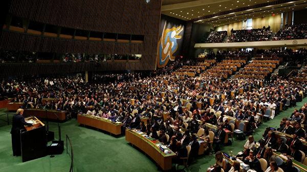Главы делегаций Генассамблеи ООН провели ланч в штаб-квартире организации