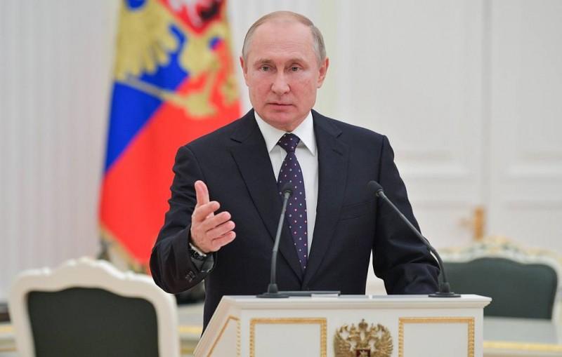 """""""Точность, оперативность и объективность"""". Путин поздравил ТАСС со 115-летием"""