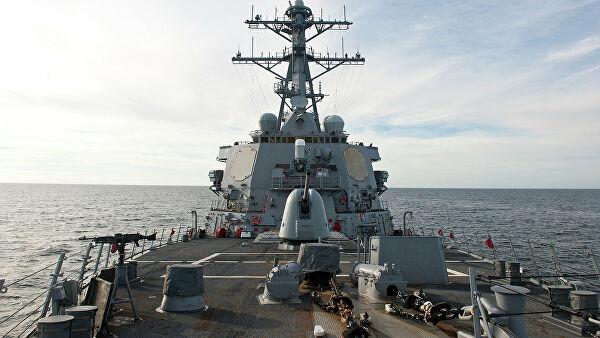 В США назвали цель захода американского эсминца в Черное море