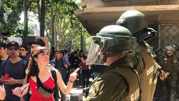 В Чили создана комиссия по расследованию действий силовых ведомств