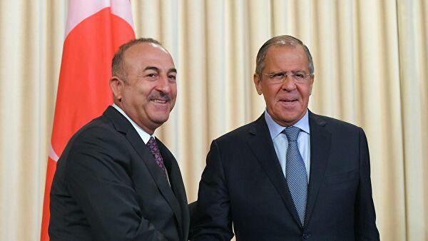 Лавров и Чавушоглу обсудили ход реализации меморандума о взаимопонимании