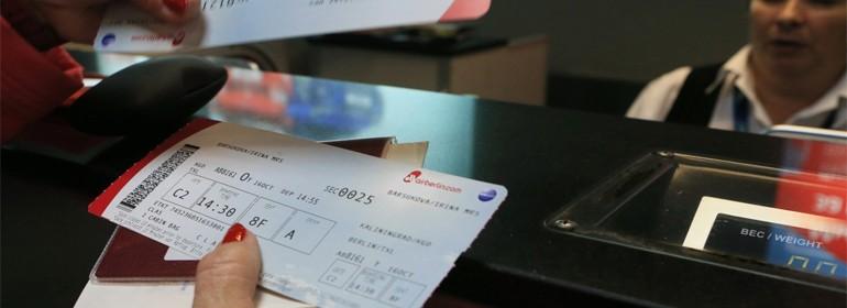 Как подтвердить расходы на перелет посадочным талоном