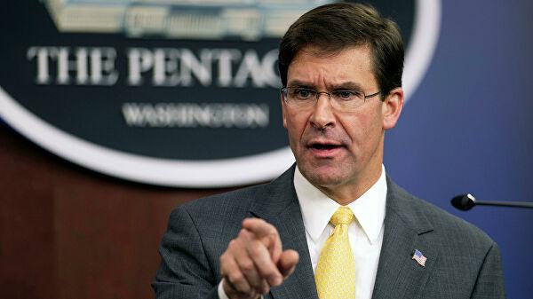 Эспер: США примут меры для укрепления позиций в районе Дейр-эз-Зора в Сирии