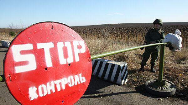 МВД Украины заявило о вывозе добровольцами оружия из Золотого-4 в Донбассе