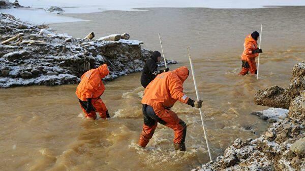 На юге Красноярского края построили временные дамбы