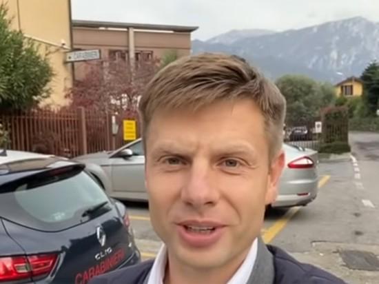 Депутат посетил итальянскую виллу Соловьева и разгневал телеведущего