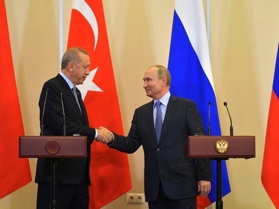 Путин склонил Эрдогана к миру в обмен на обещание