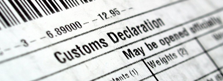Таможенная декларация: заполняем и исправляем