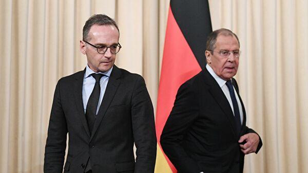 Лавров и Маас обсудили Сирию и конституционный комитет