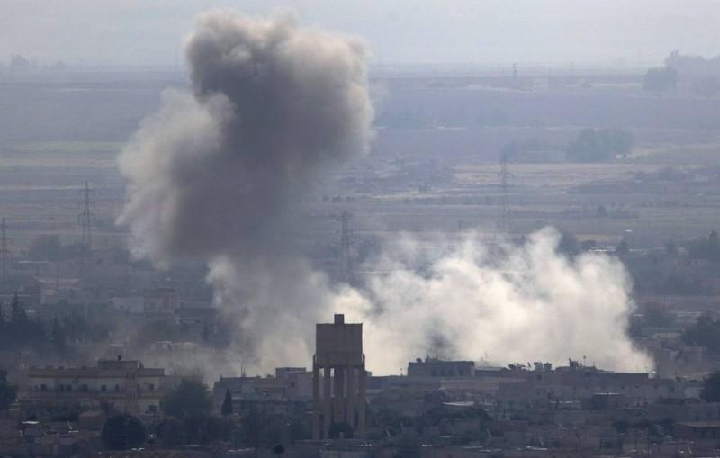Коалиция во главе с США уничтожила свой склад боеприпасов в Сирии