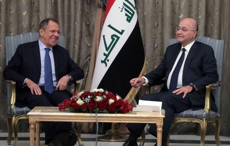 Лавров в Ираке подтвердил настрой Москвы на развитие сотрудничества