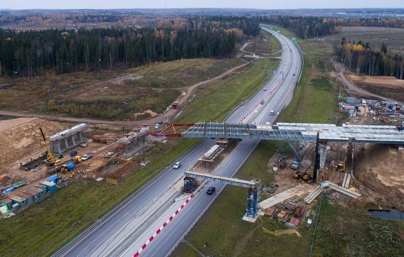 В ноябре откроют скоростную трассу М-11 Москва - Санкт-Петербург