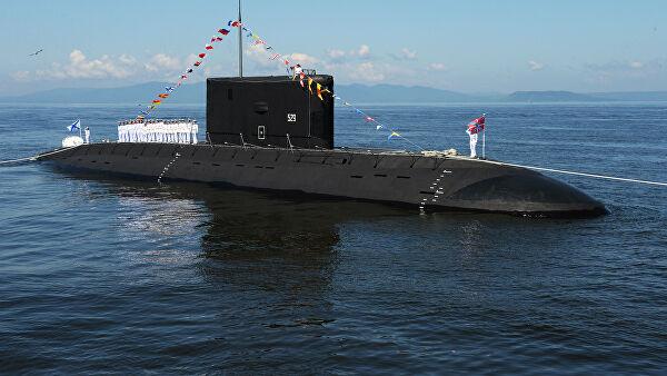 Подлодка ТОФ успешно торпедировала условного противника в Японском море