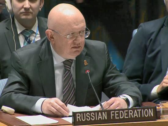 """Небензя рассказал о """"шокирующем"""" нападении на российского дипломата в Косове"""