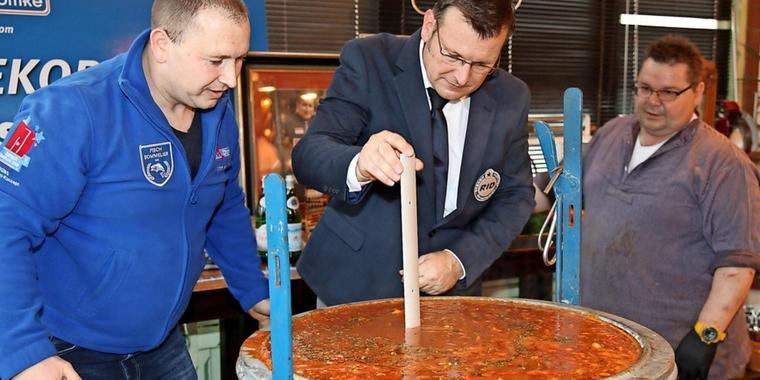 ВГермании установили мировой рекорд поприготовлению солянки