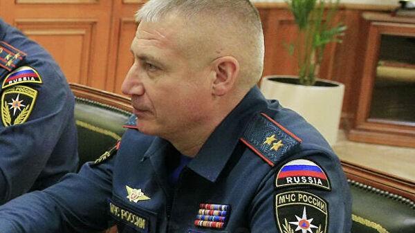 Путин назначил Супруновского заместителем главы МЧС