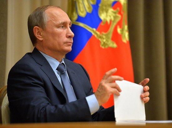 Путин принял меры предосторожности из-за коронавируса